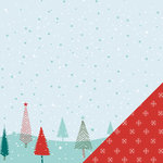 Lawn Fawn - Fa-La-La Collection - Christmas - 12 x 12 Double Sided Paper - Silent Night