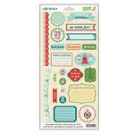 Lawn Fawn - Fa-La-La Collection - Christmas - Cardstock Stickers - Elements