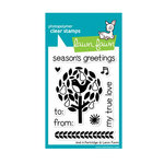 Lawn Fawn - Clear Acrylic Stamps - Christmas - And A Partridge