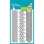 Lawn Fawn - Clear Acrylic Stamps - Interlocking Backdrops