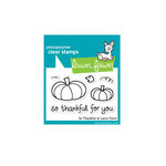 Lawn Fawn - Clear Acrylic Stamps - So Thankful