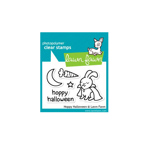 Lawn Fawn - Clear Acrylic Stamps - Halloween - Hoppy Halloween