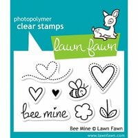 Lawn Fawn - Clear Photopolymer Stamps - Bee Mine