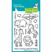 Lawn Fawn - Clear Photopolymer Stamps - Critters on the Savanna