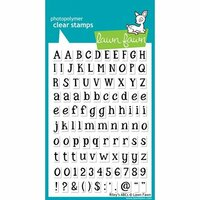 Lawn Fawn - Clear Photopolymer Stamps - Rileys ABCs