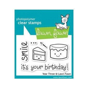 Lawn Fawn - Clear Photopolymer Stamps - Year Three
