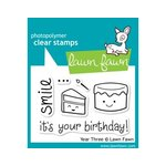 Lawn Fawn - Clear Acrylic Stamps - Year Three