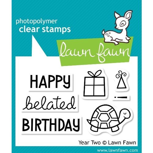 Lawn Fawn - Clear Acrylic Stamps - Year Two