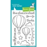 Lawn Fawn - Clear Acrylic Stamps - Blue Skies