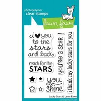 Lawn Fawn - Clear Photopolymer Stamps - Lucky Stars