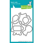 Lawn Fawn - Lawn Cuts - Die Cutting Template - Admit One