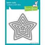 Lawn Fawn Puffy Star Stackables Die Cutting Template