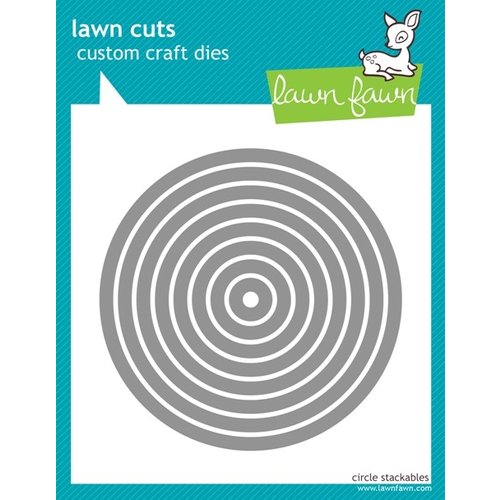 Lawn Fawn - Lawn Cuts - Circles Stackables