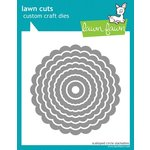 Lawn Fawn - Lawn Cuts - Die Cutting Template - Scalloped Circle Stackables