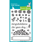 Lawn Fawn - Clear Acrylic Stamps - Penelopes Blossoms