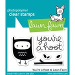 Lawn Fawn - Clear Acrylic Stamps - You're a Hoot