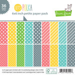 Lawn Fawn - Lets Polka Collection - 6 x 6 Petite Paper Pack