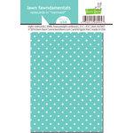 Lawn Fawn - Lawn Fawndamentals - Polka Dot Notecards - Mermaid