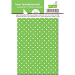 Lawn Fawn - Lawn Fawndamentals - Polka Dot Notecards - Freshly Cut Grass