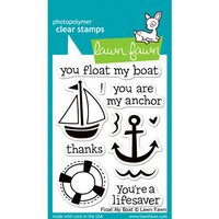 Lawn Fawn - Clear Photopolymer Stamps - Float My Boat