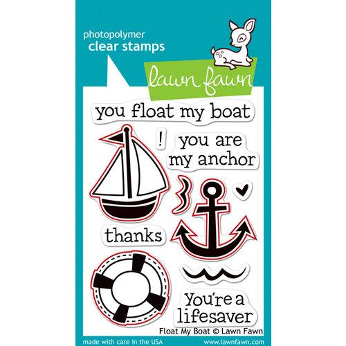 Lawn Fawn - Lawn Cuts - Dies - Float My Boat