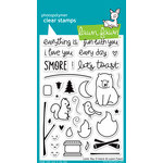 Lawn Fawn - Clear Acrylic Stamps - Love You S'more