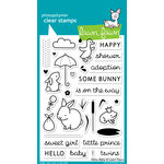Lawn Fawn - Clear Acrylic Stamps - Hello Baby