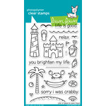 Lawn Fawn - Clear Acrylic Stamps - Life is Good