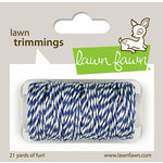 Lawn Fawn - Lawn Trimmings - Hemp Cord - Blue Jay