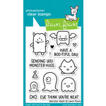 Lawn Fawn - Halloween - Clear Photopolymer Stamps - Monster Mash