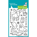 Lawn Fawn - Clear Photopolymer Stamps - Critters in the Arctic