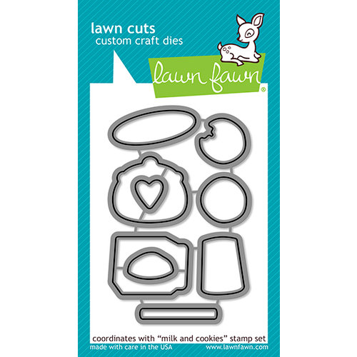 Lawn Fawn - Lawn Cuts - Dies - Milk and Cookies