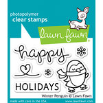 Lawn Fawn - Clear Acrylic Stamps - Winter Penguin