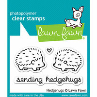 Lawn Fawn - Clear Photopolymer Stamps - Hedgehugs