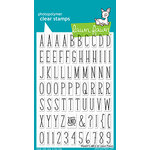 Lawn Fawn - Clear Acrylic Stamps - Violet's ABCs