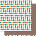 Lawn Fawn - Sweater Weather Collection - 12 x 12 Double Sided Paper - Chill