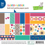 Lawn Fawn - Sweater Weather Collection - 6 x 6 Petite Paper Pack