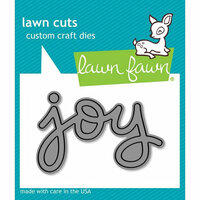 Lawn Fawn - Lawn Cuts - Dies - Scripty Joy