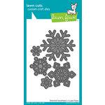 Lawn Fawn - Lawn Cuts - Dies - Stitched Snowflakes