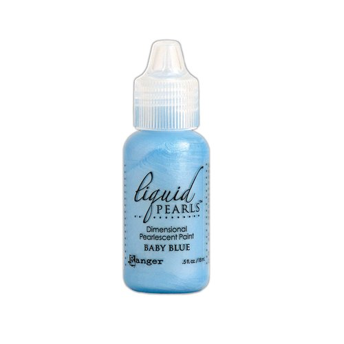 Ranger Ink - Liquid Pearls - Dimensional Paint - Baby Blue