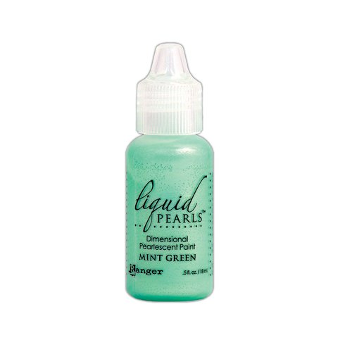 Ranger Ink - Liquid Pearls - Dimensional Paint - Mint Green