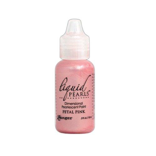 Ranger Ink - Liquid Pearls - Dimensional Paint - Petal Pink