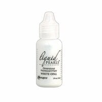 Ranger Ink - Liquid Pearls - Dimensional Paint - White Opal