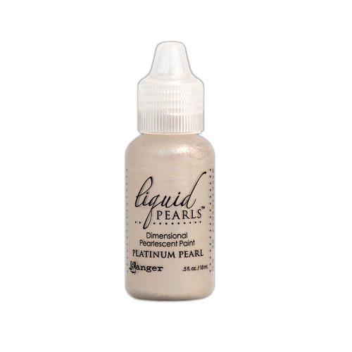 Ranger Ink - Liquid Pearls - Dimensional Paint - Platinum Pearl