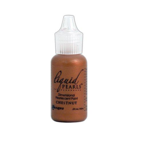Ranger Ink - Liquid Pearls - Dimensional Paint - Chestnut