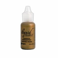 Ranger Ink - Liquid Pearls - Dimensional Paint - Copper Pearl