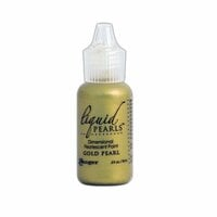 Ranger Ink - Liquid Pearls - Dimensional Paint - Gold Pearl