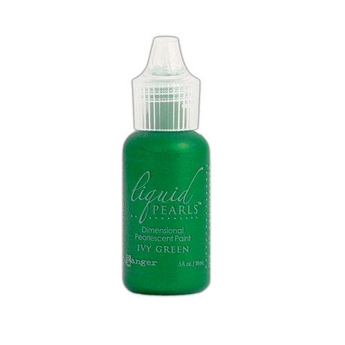 Ranger Ink - Liquid Pearls - Dimensional Paint - Ivy Green