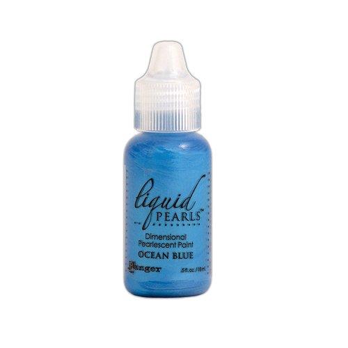 Ranger Ink - Liquid Pearls - Dimensional Paint - Ocean Blue