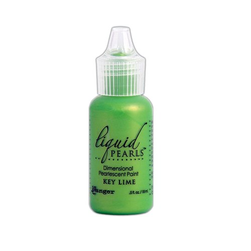 Ranger Ink - Liquid Pearls - Dimensional Paint - Key Lime